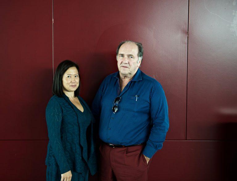 Elisa Kwon en Pablo Álvarez