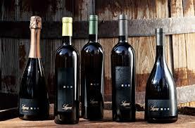 lugana bottles